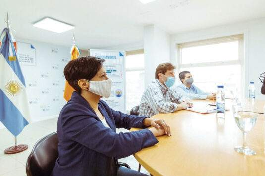 Melella firmó un convenio con ARSAT y Nación para reducir la brecha digital