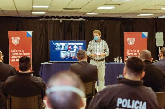 Reconocimiento al personal policial