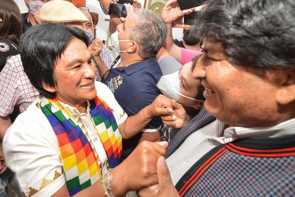 Evo Morales se reunió con Milagro Sala - El Sureño