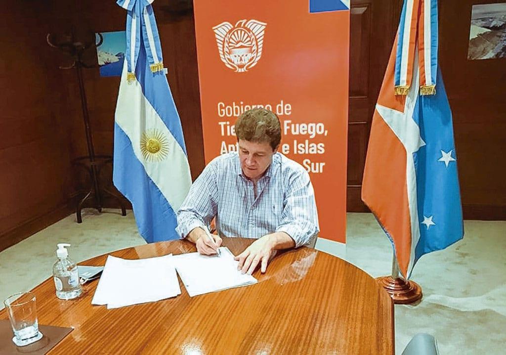 Melella firmó la adhesión al Programa de Planificación y Ordenamiento Territorial