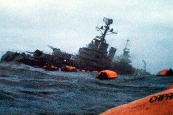 El crucero General Belgrano, un capítulo aparte